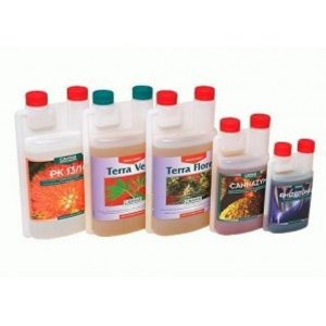 KIT FERTILIZANTES COMPLETO CANNA