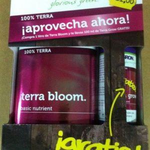 TERRA BLOOM + GRATIS TERRA GROW