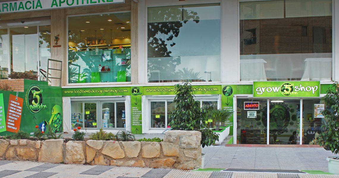 fachada nueva tienda