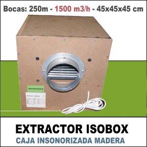 ISOBOX MADERA HDF 1500M3/H