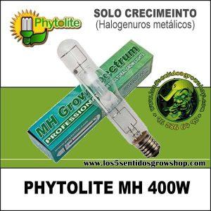 BOMBILLA PHYTOLITE HM 400 W CRECIMIENTO