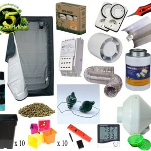 KIT COOLTECH 120, 600 W PRO - LOS 5 SENTIDOS GROW SHOP